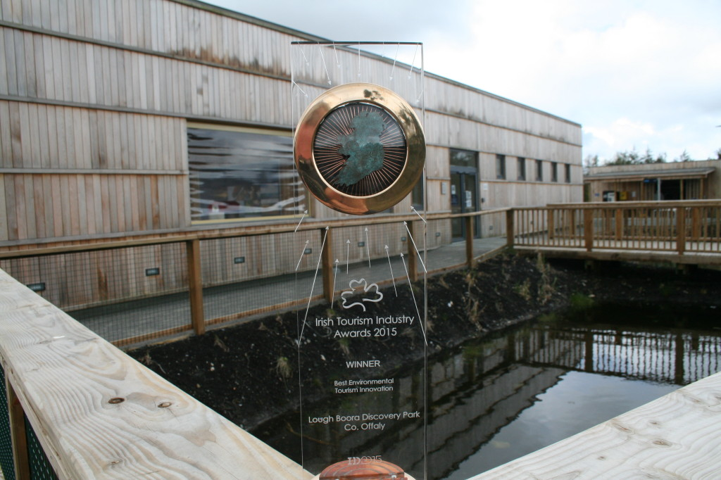 Lough Boora Discovery Park wins Irish Tourism Industry Award