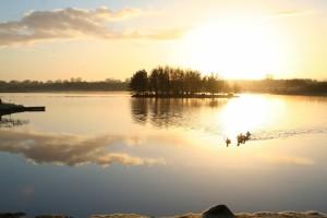 Sunrise-on-Lough-Boora
