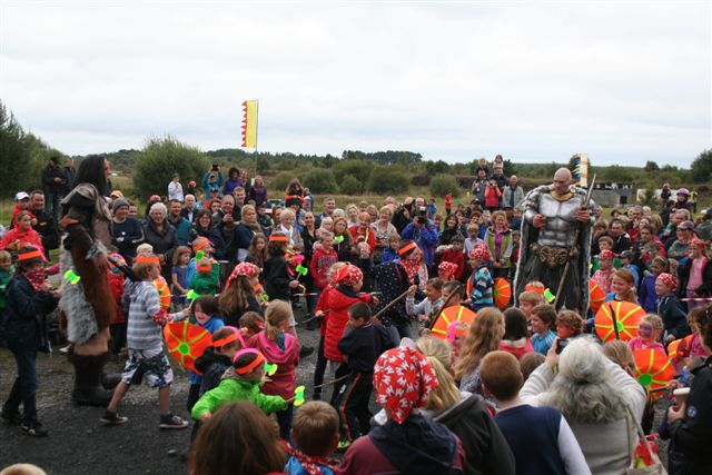 Lough Boora Discovery Park - Battle of Giants Family Day event recap - Sunday 24 August 2014
