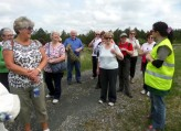 The members of the Active Retirement Associations (ARA) in the counties of Offaly, Laois, Westmeath and Cavan attended a walk organised by Midland Regional Committee ARI in Lough Boora in May.