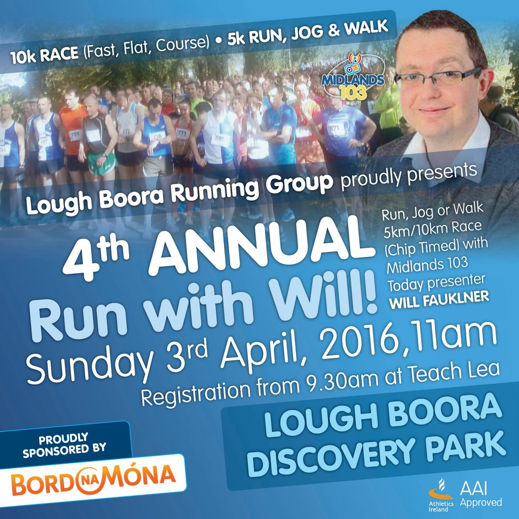 4th Annual Run with Will in Lough Boora Discovery Park